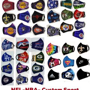NBA Face Masks on sales for fans of 32 team $10pcs for Sale in Long Beach, CA