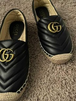 Leather Espadrille with Double G for Sale in Philadelphia,  PA