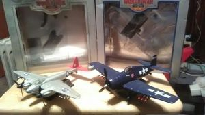 2 world war 2 diecast metal planes for Sale in District Heights, MD