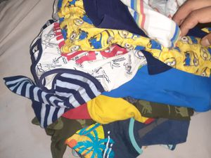Toddler clothes (pajamas,pants,tanktops,longsleeves) SIZE 5T 4T 18m for Sale in Vallejo, CA