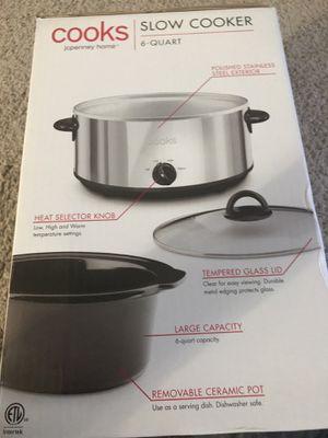 cooks slow cooker 6quart for Sale in Herndon, VA