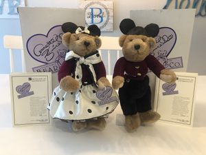 Annette Funicello Mousekebear Mickey Mouse Disney Collectable Dolls Bears for Sale in Arvada, CO