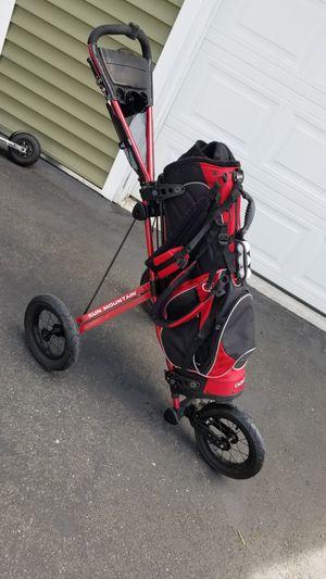 Sun Mountain Speed Cart / OGIO Self Standing Bag for Sale in Auburn, WA