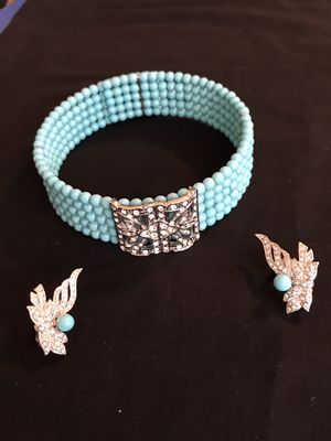 Choker and earring set for Sale in Dowling Park, FL