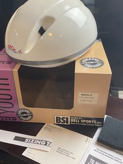 Child Youth Bicycle Helmet With Box Accessories for Sale in Vienna,  VA