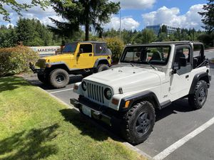 1999 Jeep Wrangler tj for Sale in Renton, WA