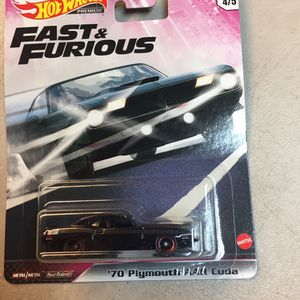 Fast and furious 70 Plymouth AAR Cuda $8 for Sale in Campbell, CA