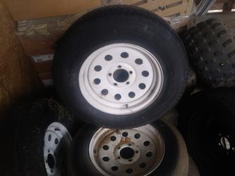 Trailer tires and rims for Sale in Los Angeles,  CA