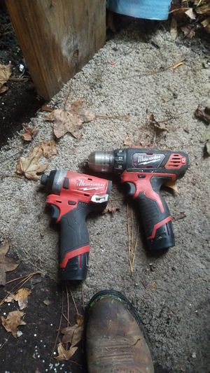 Milwaukee compact drills for Sale in Spring Hill, FL