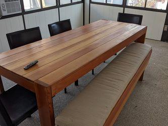 Custom Built Wood Table for Sale in Santa Monica,  CA