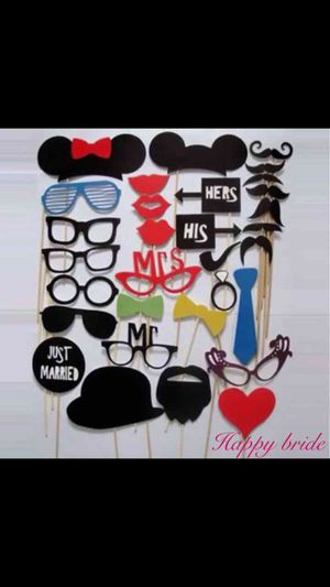 Brand new Wedding Photo Booth Props for Sale in Las Vegas, NV