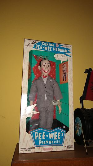 Pee wee playhouse doll for Sale in Pearland, TX