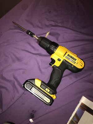 Dewalt 1/2'' Cordless Drill/Driver 20V Max for Sale in Spring, TX
