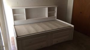 Twin Bed w/ Shelves & Storage for Sale in Tucson, AZ