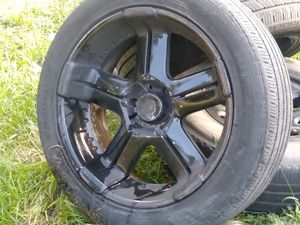 """22 """" blacked out 6 lug rims for Sale in Winter Park, FL"""