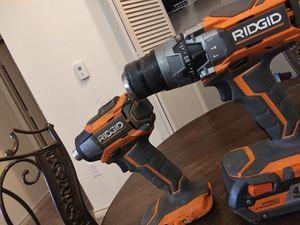Rigid power drill set. for Sale in Midland, TX