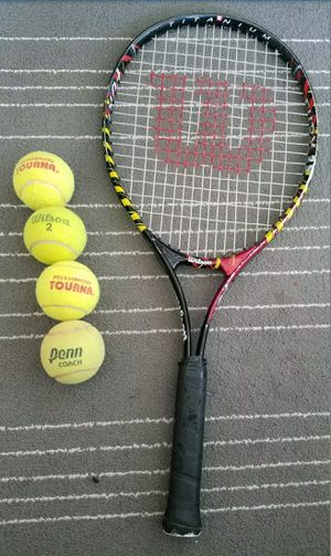 Wilson Fury Tennis Racket for Sale in Chicago, IL