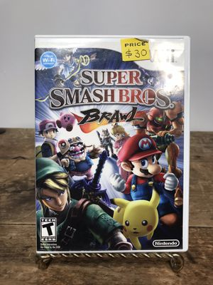 Super Smash Bros Brawl for Nintendo Wii, Cleaned, Tested and works great 🎮❄️🕹 for Sale in Pleasant Hill, CA