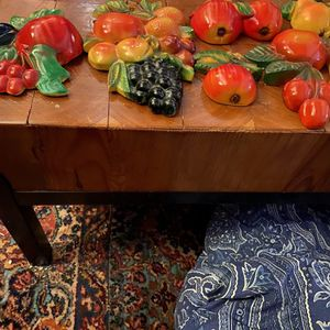Vintage WT Grant 1940s Fruit/Vegetable Chalk Ware for Sale in Suffolk, VA