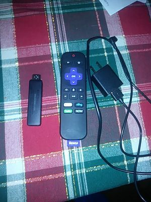 Roku with charger and remote for Sale in Dallas, TX