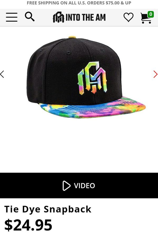 f32402380 INTO THE AM tie dye snapback for Sale in South El Monte, CA - OfferUp