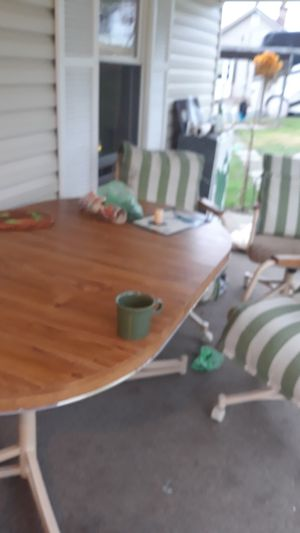 Table with 4 chairs /cousins for Sale in White Hall, WV