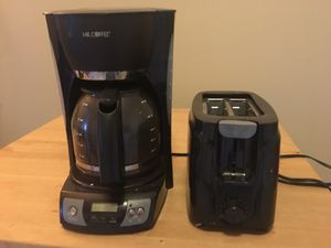 Coffee maker & toaster $10 OBO for Sale in St. Louis, MO