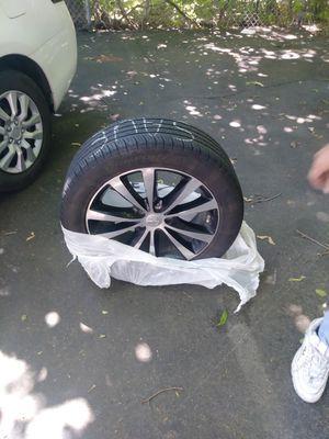Rims with tire for Sale in Johnston, RI