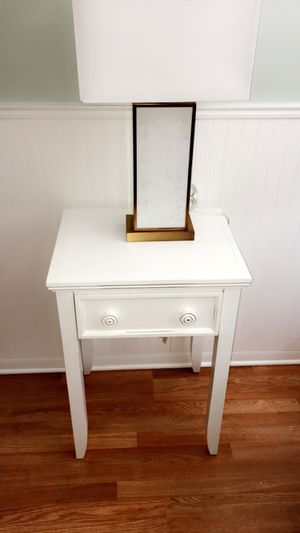 Modern beautiful stead single Drawer End Table $55 firm for Sale in Hammond, IN