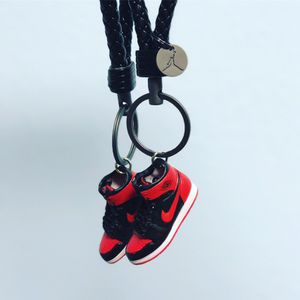06053c3db106af Nike Air Jordan Retro 3D sneaker Keychain selection bred banned space jam  for Sale in Charlotte