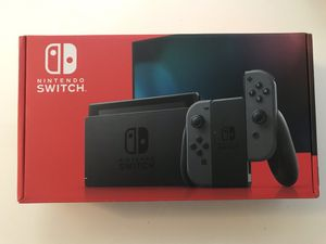 *Brand New* Nintendo Switch Latest Version V2 Grey for Sale in Richmond, CA