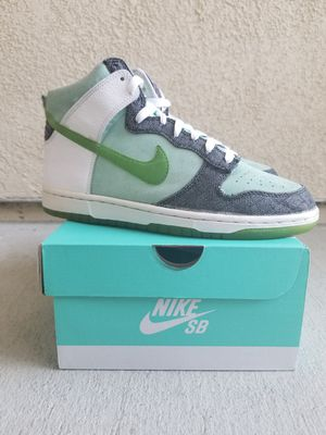 Vintage Retro Nike Dunk High 6.0 SB Green for Sale in Antioch, CA