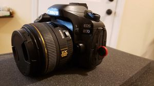 Canon 80D with Sigma lens for Sale in Las Vegas, NV