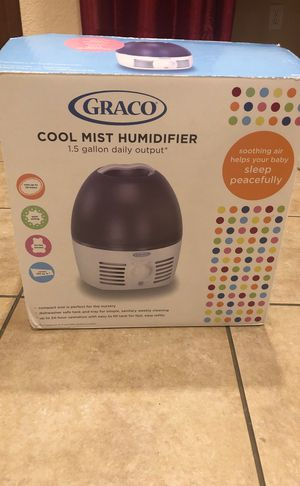 Graco Cool Mist Humidifier - 1.5 Gallon for Sale in Irving, TX