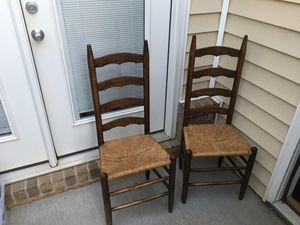 2 latterback chairs for Sale in Lynchburg, VA