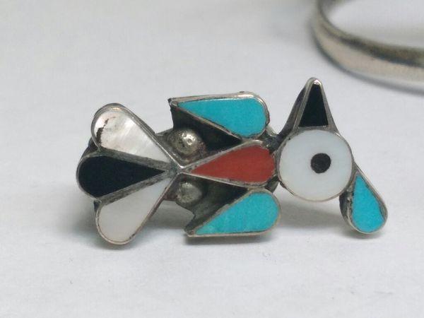 $110 - Silver Bracelet Errings and Ring set