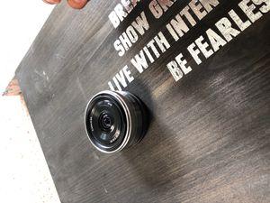 Sony E-mount 2.8/16 lens ( SONY CAMERA) for Sale in Murfreesboro, TN