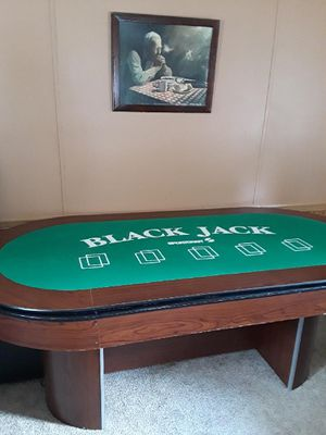 Convertible poker/blackjack table for Sale in Kentwood, MI