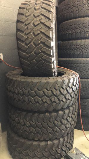 """40"""" tires for 20"""" wheels $1500 for Sale in Winter Haven, FL"""