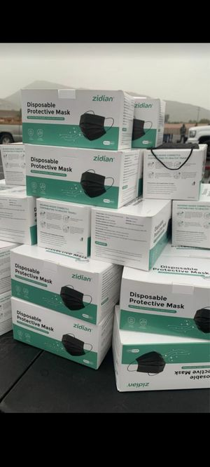disposable face masks 😷 for Sale in Fontana, CA