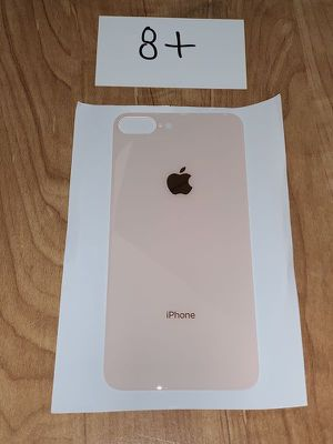 New Apple iPhone 8 Plus Back Glass Rose Gold for Sale in San Fernando, CA