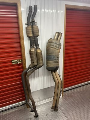 BMW s52 mid pipe and cat back exhaust for Sale in Mill Valley, CA