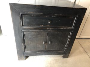 Pottery Barn End Table/Cabinet for Sale in Denver, CO