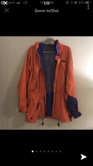 Men's Bright Orange Patagonia Jacket for Sale in Strongsville, OH