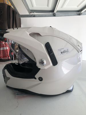 Motorcycle adventure helmet, never used with tags for Sale in San Marcos, CA