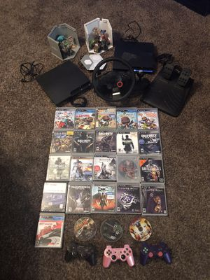 Two ps3's and games for Sale in Odessa, TX