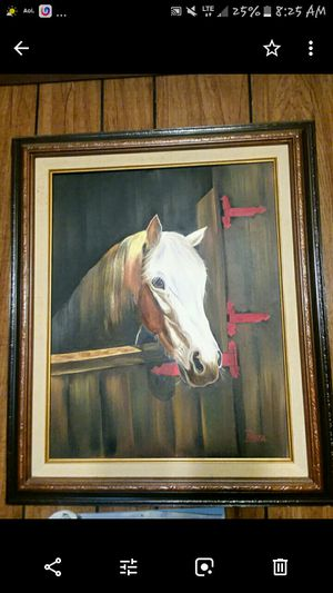 Horse Painting for Sale in Bridgeport, WV