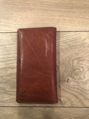 Genuine leather, hand made men wallet for Sale in Sunnyvale, CA