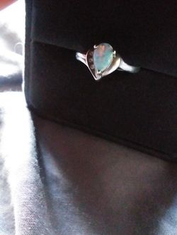 Opal Silver Ring for Sale in McHenry,  IL