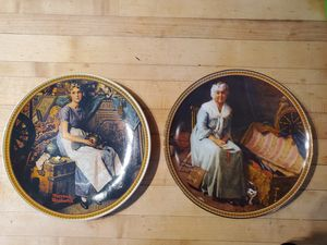 Norman Rockwell's Rediscovered Women Collection Plates for Sale in Billings, MT